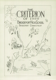 Page 5, 1929 Edition, Bridgeport Central High School - Criterion Yearbook (Bridgeport, CT) online yearbook collection