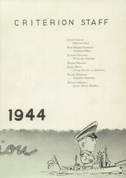 Page 11, 1944 Edition, Bridgeport Central High School - Criterion Yearbook (Bridgeport, CT) online yearbook collection