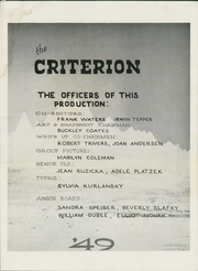 Page 3, 1949 Edition, Bridgeport Central High School - Criterion Yearbook (Bridgeport, CT) online yearbook collection