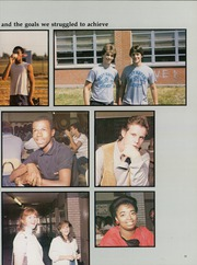 Page 15, 1985 Edition, West Haven High School - Blue Flame Yearbook (West Haven, CT) online yearbook collection