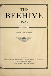 Page 11, 1923 Edition, New Britain High School - Beehive Yearbook (New Britain, CT) online yearbook collection