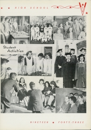Page 13, 1943 Edition, New Britain High School - Beehive Yearbook (New Britain, CT) online yearbook collection