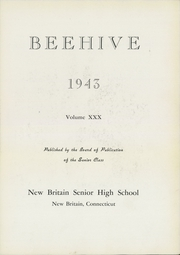 Page 7, 1943 Edition, New Britain High School - Beehive Yearbook (New Britain, CT) online yearbook collection