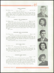 Page 75, 1946 Edition, New Britain High School - Beehive Yearbook (New Britain, CT) online yearbook collection