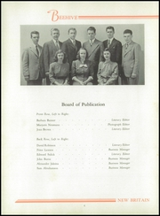 Page 8, 1946 Edition, New Britain High School - Beehive Yearbook (New Britain, CT) online yearbook collection