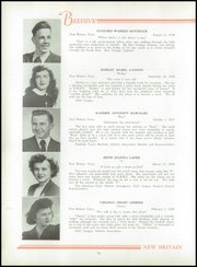 Page 82, 1946 Edition, New Britain High School - Beehive Yearbook (New Britain, CT) online yearbook collection