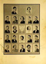 Page 7, 1935 Edition, Southington High School - Chronicle Yearbook (Southington, CT) online yearbook collection