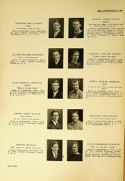 Page 10, 1936 Edition, Southington High School - Chronicle Yearbook (Southington, CT) online yearbook collection