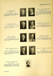 Page 14, 1936 Edition, Southington High School - Chronicle Yearbook (Southington, CT) online yearbook collection