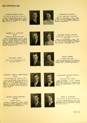 Page 9, 1936 Edition, Southington High School - Chronicle Yearbook (Southington, CT) online yearbook collection
