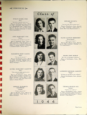 Page 9, 1944 Edition, Southington High School - Chronicle Yearbook (Southington, CT) online yearbook collection