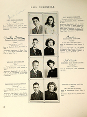 Page 10, 1946 Edition, Southington High School - Chronicle Yearbook (Southington, CT) online yearbook collection