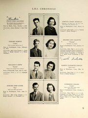 Page 11, 1946 Edition, Southington High School - Chronicle Yearbook (Southington, CT) online yearbook collection