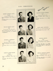 Page 12, 1946 Edition, Southington High School - Chronicle Yearbook (Southington, CT) online yearbook collection