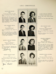 Page 14, 1946 Edition, Southington High School - Chronicle Yearbook (Southington, CT) online yearbook collection