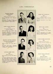 Page 15, 1946 Edition, Southington High School - Chronicle Yearbook (Southington, CT) online yearbook collection