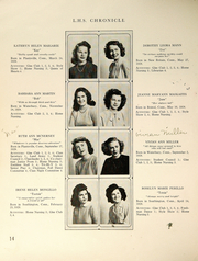 Page 16, 1946 Edition, Southington High School - Chronicle Yearbook (Southington, CT) online yearbook collection