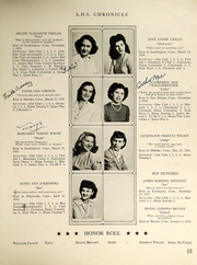 Page 17, 1946 Edition, Southington High School - Chronicle Yearbook (Southington, CT) online yearbook collection
