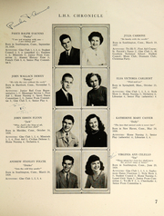 Page 9, 1946 Edition, Southington High School - Chronicle Yearbook (Southington, CT) online yearbook collection