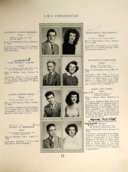 Page 15, 1947 Edition, Southington High School - Chronicle Yearbook (Southington, CT) online yearbook collection