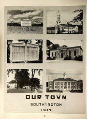 Page 8, 1947 Edition, Southington High School - Chronicle Yearbook (Southington, CT) online yearbook collection