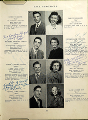 Page 11, 1950 Edition, Southington High School - Chronicle Yearbook (Southington, CT) online yearbook collection