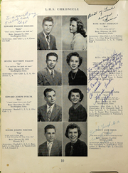 Page 12, 1950 Edition, Southington High School - Chronicle Yearbook (Southington, CT) online yearbook collection