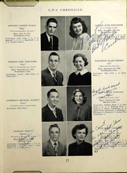 Page 13, 1950 Edition, Southington High School - Chronicle Yearbook (Southington, CT) online yearbook collection