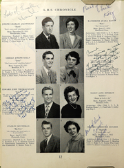 Page 14, 1950 Edition, Southington High School - Chronicle Yearbook (Southington, CT) online yearbook collection