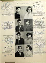 Page 15, 1950 Edition, Southington High School - Chronicle Yearbook (Southington, CT) online yearbook collection