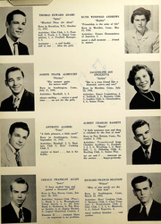 Page 15, 1952 Edition, Southington High School - Chronicle Yearbook (Southington, CT) online yearbook collection