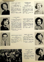 Page 17, 1952 Edition, Southington High School - Chronicle Yearbook (Southington, CT) online yearbook collection