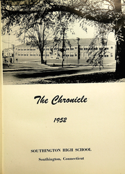 Page 5, 1952 Edition, Southington High School - Chronicle Yearbook (Southington, CT) online yearbook collection