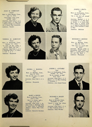 Page 13, 1953 Edition, Southington High School - Chronicle Yearbook (Southington, CT) online yearbook collection