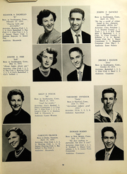 Page 17, 1953 Edition, Southington High School - Chronicle Yearbook (Southington, CT) online yearbook collection