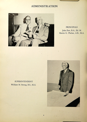 Page 8, 1953 Edition, Southington High School - Chronicle Yearbook (Southington, CT) online yearbook collection