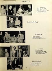Page 9, 1953 Edition, Southington High School - Chronicle Yearbook (Southington, CT) online yearbook collection