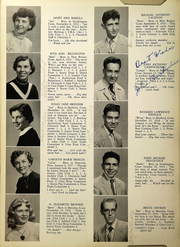 Page 16, 1954 Edition, Southington High School - Chronicle Yearbook (Southington, CT) online yearbook collection