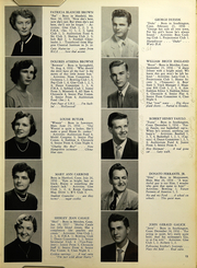 Page 17, 1954 Edition, Southington High School - Chronicle Yearbook (Southington, CT) online yearbook collection