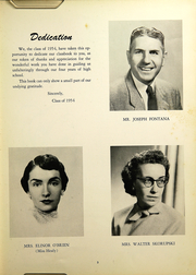 Page 7, 1954 Edition, Southington High School - Chronicle Yearbook (Southington, CT) online yearbook collection