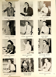 Page 17, 1959 Edition, Southington High School - Chronicle Yearbook (Southington, CT) online yearbook collection