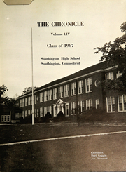 Page 5, 1967 Edition, Southington High School - Chronicle Yearbook (Southington, CT) online yearbook collection