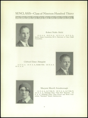 Page 10, 1930 Edition, East Hartford High School - Janus Yearbook (East Hartford, CT) online yearbook collection