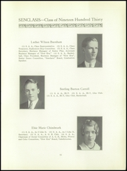 Page 13, 1930 Edition, East Hartford High School - Janus Yearbook (East Hartford, CT) online yearbook collection