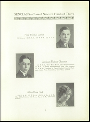 Page 17, 1930 Edition, East Hartford High School - Janus Yearbook (East Hartford, CT) online yearbook collection