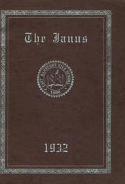 Page 1, 1932 Edition, East Hartford High School - Janus Yearbook (East Hartford, CT) online yearbook collection
