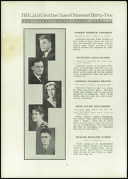 Page 10, 1932 Edition, East Hartford High School - Janus Yearbook (East Hartford, CT) online yearbook collection