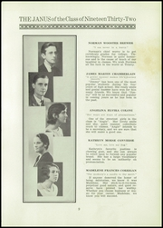 Page 11, 1932 Edition, East Hartford High School - Janus Yearbook (East Hartford, CT) online yearbook collection