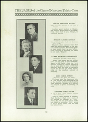 Page 12, 1932 Edition, East Hartford High School - Janus Yearbook (East Hartford, CT) online yearbook collection