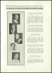 Page 13, 1932 Edition, East Hartford High School - Janus Yearbook (East Hartford, CT) online yearbook collection